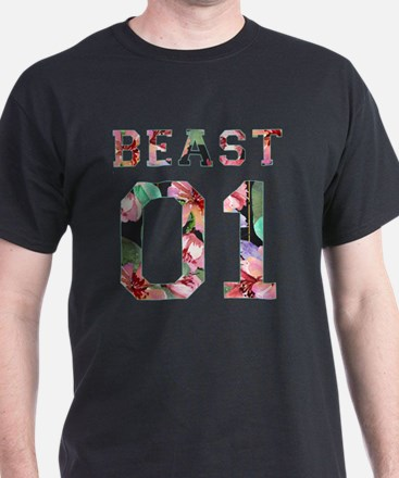 Couples beauty and beast T-Shirt
