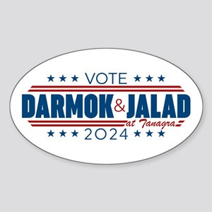 Darmok And Jalad 2020 Sticker (Oval)