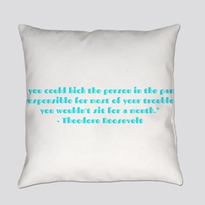 Responsible for trouble Everyday Pillow