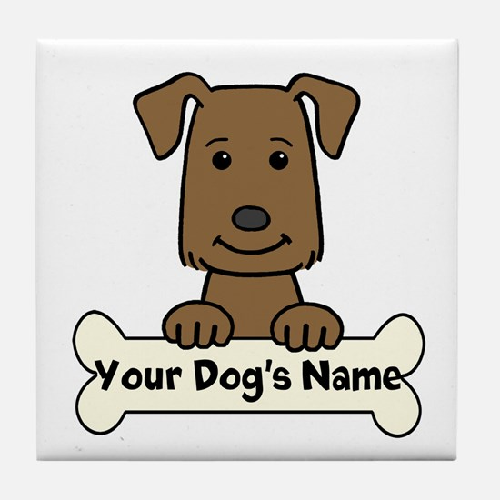 Personalized Labrador Tile Coaster