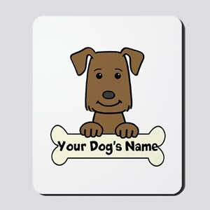 Personalized Labrador Mousepad