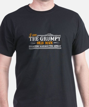 Grumpy Old Man Shirt T-Shirt
