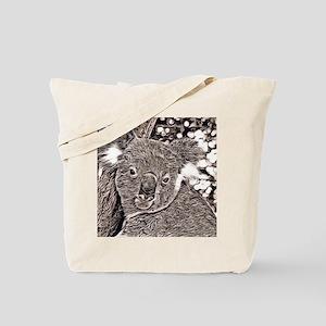 Rustic Style -Koala Tote Bag