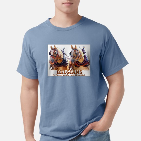 Strong Beautiful Belgians! T-Shirt