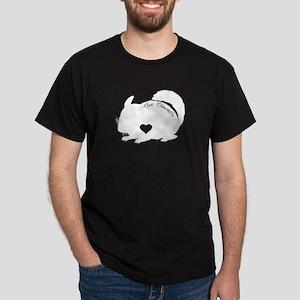 Chinchilla Heart Shirt T-Shirt