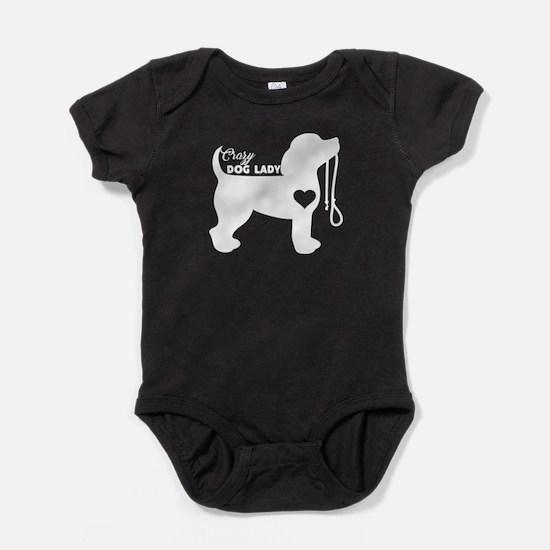 Crazy Dog Lady Baby Bodysuit