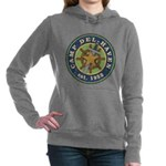Del-Haven Logo Women's Hooded Sweatshirt