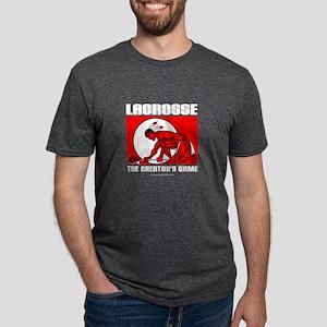 Blk-Lacrosse-Drawman-10x10 T-Shirt