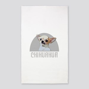 Chihuahua dog Area Rug