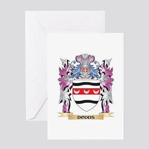 Dodds Coat of Arms (Family Crest) Greeting Cards
