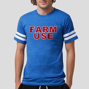 Farm Use Mens Football Shirt T-Shirt
