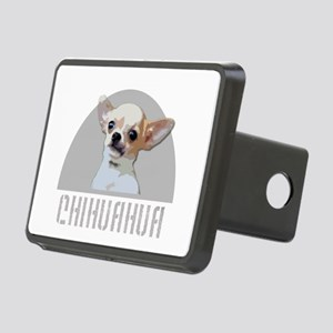 Chihuahua dog Rectangular Hitch Cover