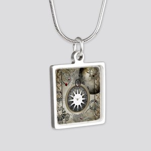 Steampunk, clocks and gears Necklaces