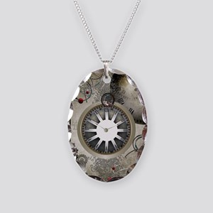 Steampunk, clocks and gears Necklace