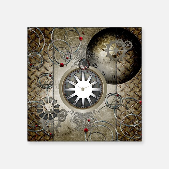 Steampunk, clocks and gears Sticker