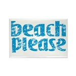 Beach Please Magnets