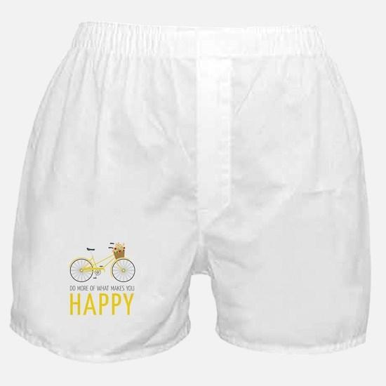 Makes You Happy Boxer Shorts