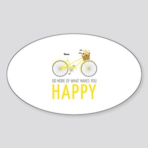 Makes You Happy Sticker