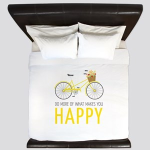 Makes You Happy King Duvet