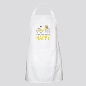 Makes You Happy Apron