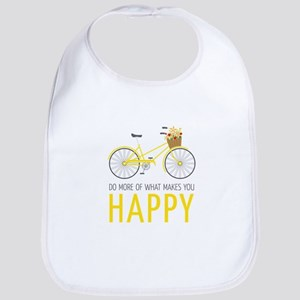 Makes You Happy Bib