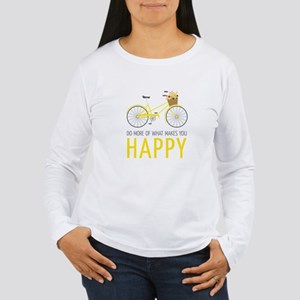 Makes You Happy Long Sleeve T-Shirt