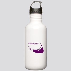 Nantucket Island - Plu Stainless Water Bottle 1.0L