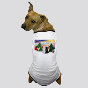 Treat/Two Poodles (ST) Dog T-Shirt
