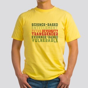 CDC Banned Science Words T-Shirt