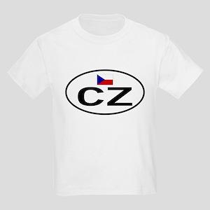Czech Republic 1F Kids Light T-Shirt