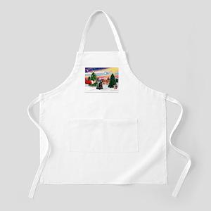 SantasTreat/Scottie #4 BBQ Apron