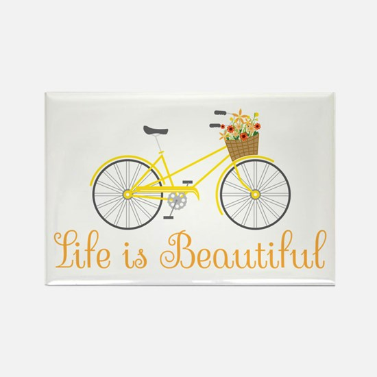Life Is Beautiful Magnets