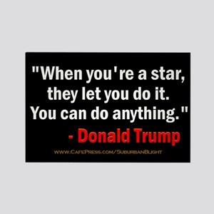 Trump Star Do Anything Magnets