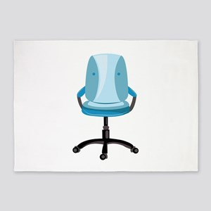 Office Chair 5'x7'Area Rug