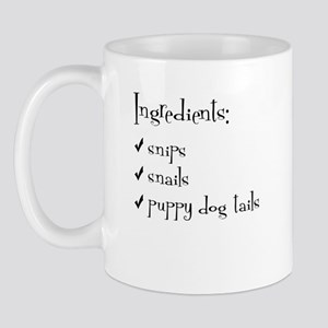 Snips, Snails, Tails Mug