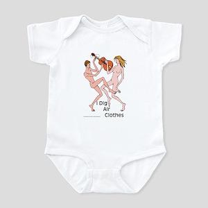Air guitar or air clothes? Infant Bodysuit