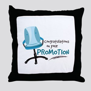 Your Promotion Throw Pillow