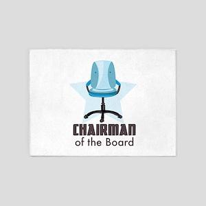 Chairman of Board 5'x7'Area Rug