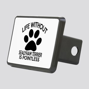 Life Without Sealyham Terr Rectangular Hitch Cover