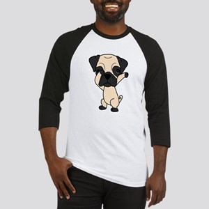 Cute Dabbing Pug Baseball Jersey