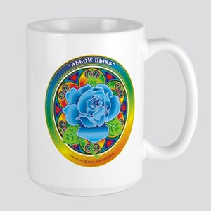 Blue Rose Bliss Mugs