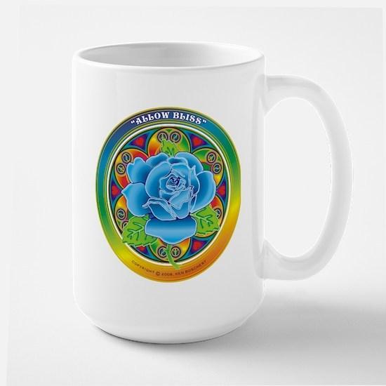 Blue Rose Bliss Mugs