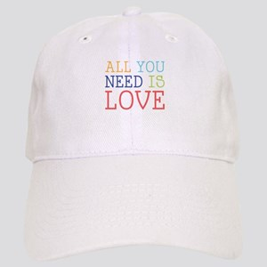 You Need Love Baseball Cap