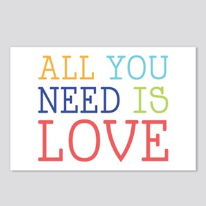 You Need Love Postcards (Package of 8)