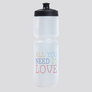 You Need Love Sports Bottle