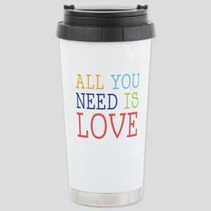 You Need Love Travel Mug