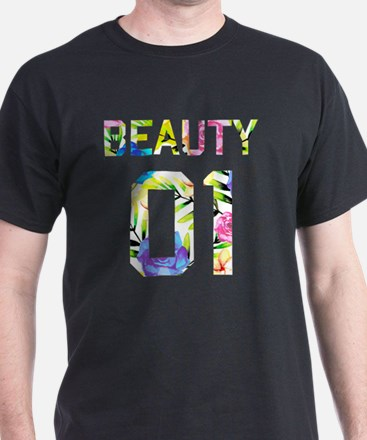 Cute Couples beauty and beast T-Shirt
