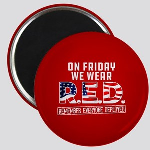 On Friday We Wear RED Magnet