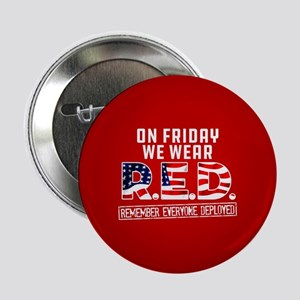 """On Friday We Wear RED 2.25"""" Button (10 pack)"""
