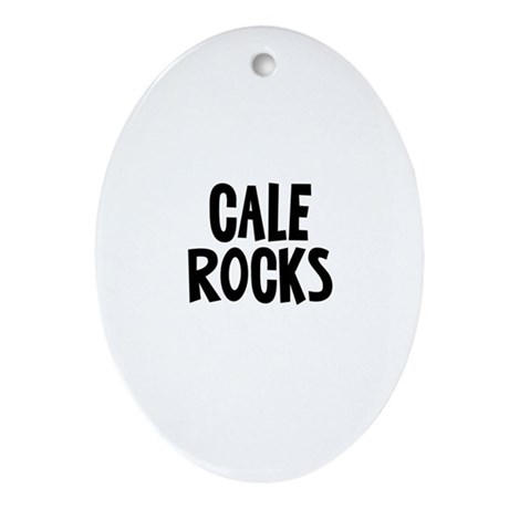 Cale Rocks Oval Ornament